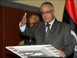 رئيس الوزراء علي زيدان