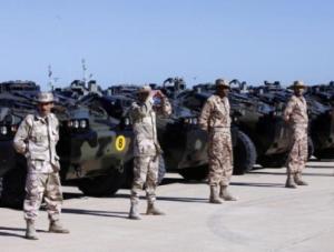 ضباط الشرطة الليبيين الذين يدرسون بالكليات التركية