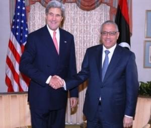 وزير الخارجية الامريكية السيد جون كيري