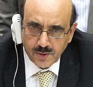 سفير باكستان لدى الأمم المتحدة مسعود خان