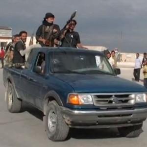 عناصر من قوات المعارضة السورية