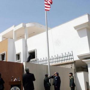 السفارة الأميركية في ليبيا