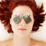 كمادات الشاي للتخلُّص من العيون المرهقة