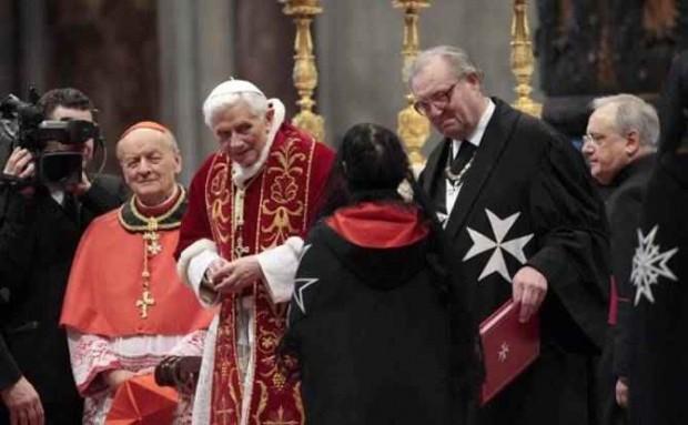 البابا-وفرسان-مالطا