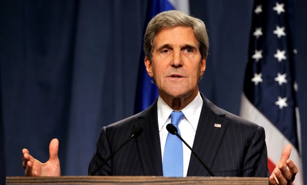 U.S. Secretary Of StateJohn Kerry Meets With Russian Foreign Minister In Geneva