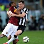 روما بعشرة لاعبين يقتنص نقطة من أنياب يوفنتوس