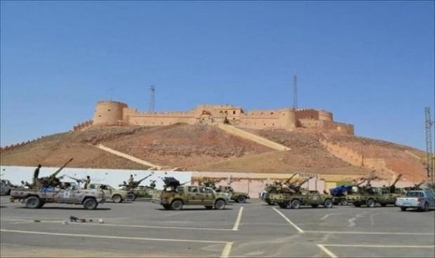 قاعدة-براك-الشاطئ-عاجل-ليبيا-الان