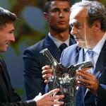 رسميًا: ميسي أفضل لاعب في أوروبا