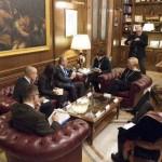 كوبلر يلتقي وزيرة الدفاع الايطالية