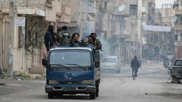 تنظيم الدولة يركز عملياته للسيطرة على دير الزور
