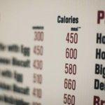أمريكا..قيمة السعرات الحرارية لكل وجبة ستكون بقوائم الطعام في 2017