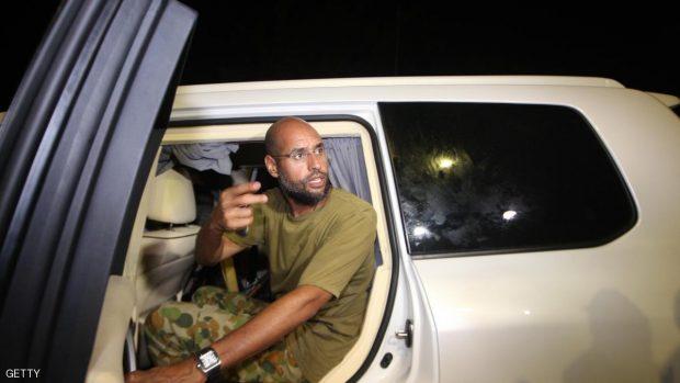 Saif al-Islam Kadhafi, son of Libyan lea