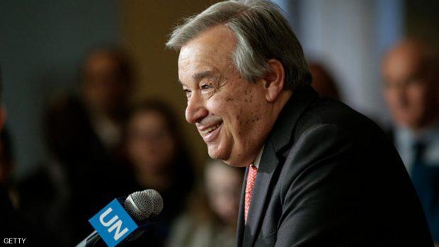 الأمين العام الجديد المرشح لرئاسة الأمم المتحدة أنطونيو غوتيريس