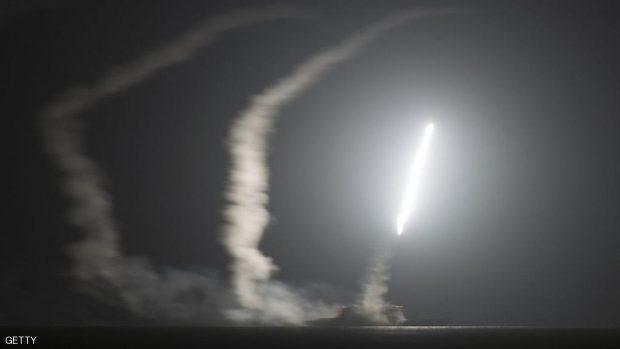 أميركا وجهت ضربات صاروخية لمواقع تابعة للحوثيين