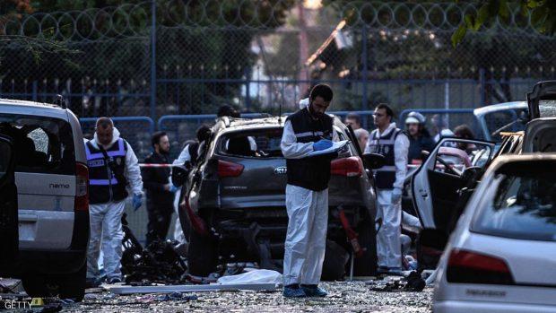 التفجير أسفر عن 10 إصابات