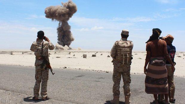 طائرة بدون طيار استهدفت مقاتلي القاعدة