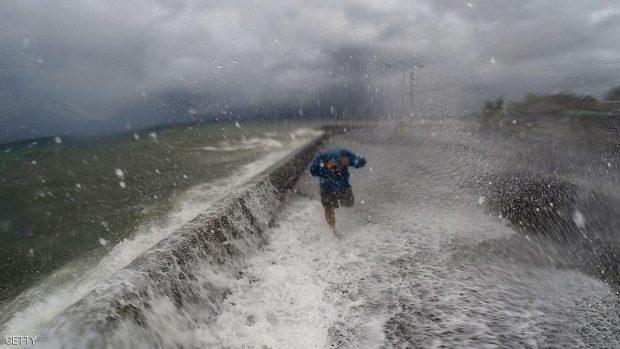 الأعاصير تضرب الفلبين حوالى 20 مرة في العام