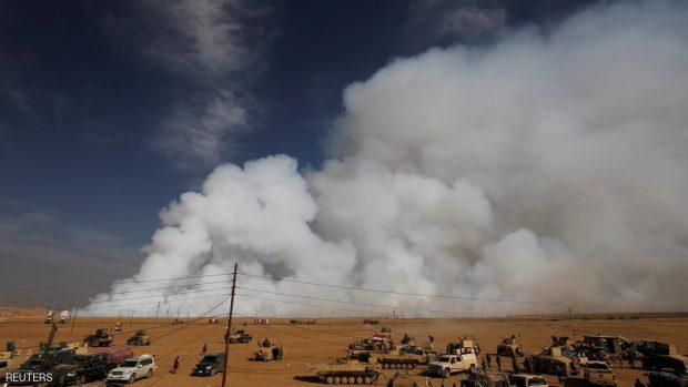 تنظيم الدولة فجر معملا للكبريت قرب الموصل