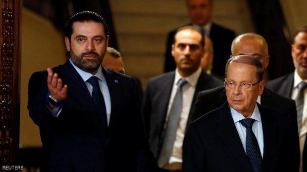 ميشال عون رئيسا للبنان