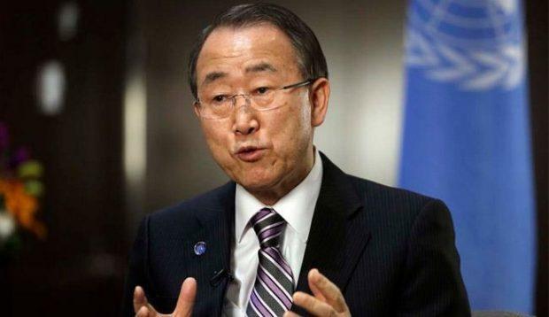 الامين العام للامم المتحدة بان كي مون
