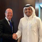 الدوحة.. كوبلر يجتمع بوزير الخارجية القطري
