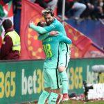 برشلونة يَهزم أوساسونا وميسي يُحقق رقمين جديدين