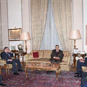 شكري والجمالي: الأطراف الليبية ستجد الحل دون تدخل أجنبي
