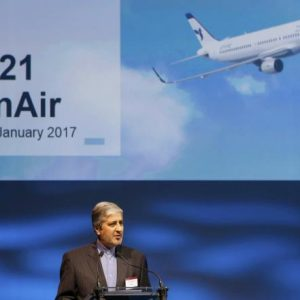 إيران تتسلم أولى طائرات إيرباص بعد الاتفاق النووي