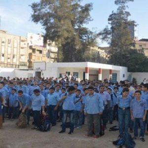 وزارة التعليم تعفي الطلبة من الطابور بسبب موجة البرد الشديد