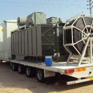 استيراد محطة توليد كهربائية متنقلة بقدرة 300 ميغاوات