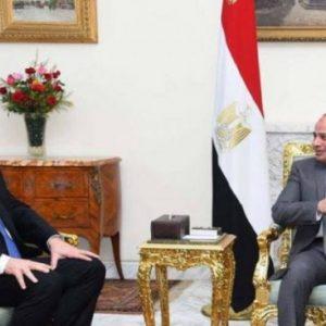 السراج يختتم زيارته إلى مصر بعد لقائه السيسي ورئيس الأركان