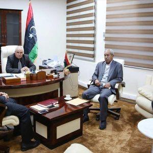 وزير الدولة يناقش تطبيق إتفاق المصالحة بين مصراته وتاورغاء