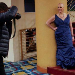 مرضى السرطان عارضو أزياء في نيويورك