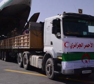 الجزائر: مساعدات إنسانية تصل مُدن غات وأوباري جنوب ليبيا