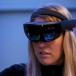 نظارة الواقع المعزز
