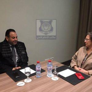 الوزير المفوض بحكومة الوفاق يلتقي بسفيرة فرنسا في ليبيا