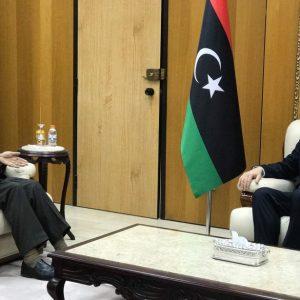 طرابلس.. السراج يلتقي مبعوث الأمين العام لجامعة الدول العربية