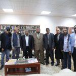 رئيس اللجنة التسييرية يلتقي عميد بلدية غات