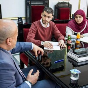 عميد طرابلس يلتقي برئيس طلبة ليبيا لدعم وتمكين الشباب