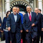 السويحلي يلتقي رئيس مجلس النواب التونسي
