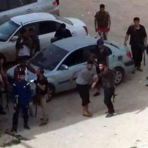 الهلال الأحمر فرع طرابلس يجلي عائلة محاصرة في أبوسليم ويسعف مصابين