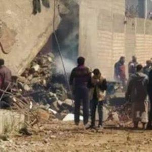 إسقاط طائرة حربية تابعة لقوات الكرامة في بنغازي