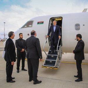 رئيس المجلس الأعلى للدولة يصل العاصمة الإيطالية روما