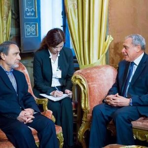 السويحلي يلتقي رئيس مجلس الشيوخ الإيطالي في روما