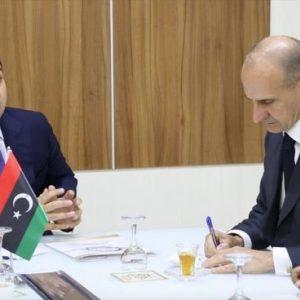 معتيق وباولو سيرا يبحثان الترتيبات الأمنية في طرابلس