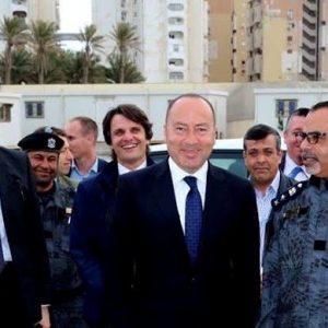 رئيس بعثة الدعم الأوروبية إلى ليبيا يلتقي بإدارة أمن السواحل