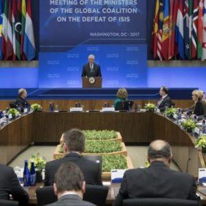 تيلرسون يتعهد بتصعيد الحرب على تنظيم الدولة
