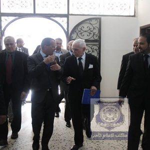 داخلية الوفاق الوطني تستقبل مدير عام المنظمة الدولية للهجرة