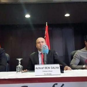 رئيس الاتحاد الإفريقي لكرة القدم المصغرة يحل ضيفاً على ليبيا