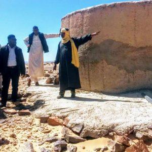 لجنة البنية التحتية ببلدي غات تقوم بزيارة ميدانية لمحلة ايسين